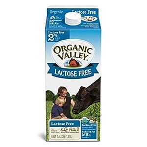 Organic Valley, Organic Lactose Free 2% Reduced Fat Milk, Half Gallon, 64 oz