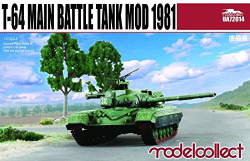 Modelcollect UA72014Model Assembly Kit T-64 Main Battle Tank 1981