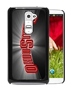 Ncaa Ohio State Buckeyes 42 Black Popular Custom Design LG G2 Phone Case