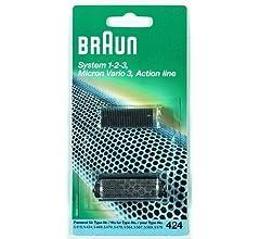 Braun - Combi-pack 424 - Láminas de recambio + portacuchillas para ...