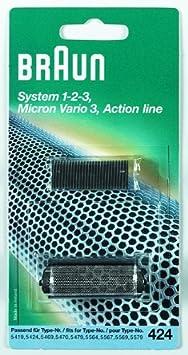 Braun - Combi-pack 20S - Láminas de recambio + portacuchillas para afeitadoras cruZer Procter & Gamble GmbH 65733762 B001MTXK82