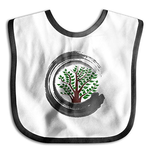 Bonsai Tree Zen Infant Baby's Skin-friendly Saliva Towel - From Canada Usps To Us Shipping