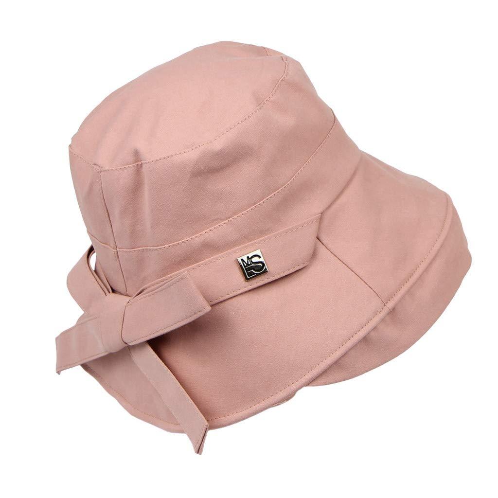 Amazon.com: Copercn – Cubo de sombrero de color liso curvado ...