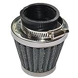 Baitaihem Pack of 2 Motorcycle POD Air Filter Dirt Pocket Bike ATV Pit Bike 35 38 39 40 42 46 48 50 52 54mm (38/39/40mm)