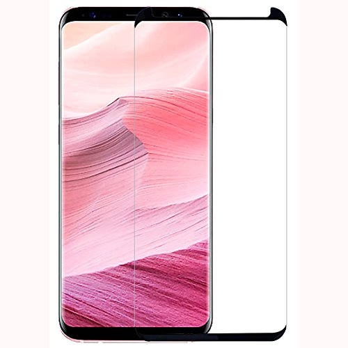 Casotec 3D Curved Edge to Edge Tempered Glass for Samsung Galaxy S8 Plus   Black