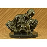 Beautiful Art Deco Collector Edition Original Gone Wind Bronze Sculpture Movie Memorabilia
