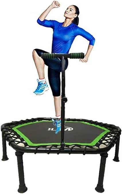 Trampolín de fitness HUO Trampolín Plegable Fitness Trampolín ...