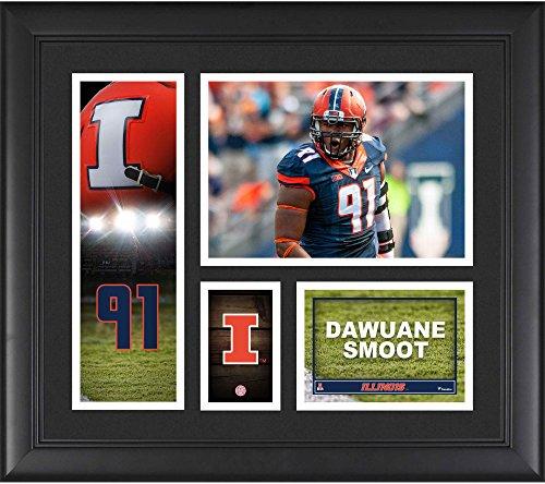 - Dawuane Smoot Illinois Fighting Illini Framed 15