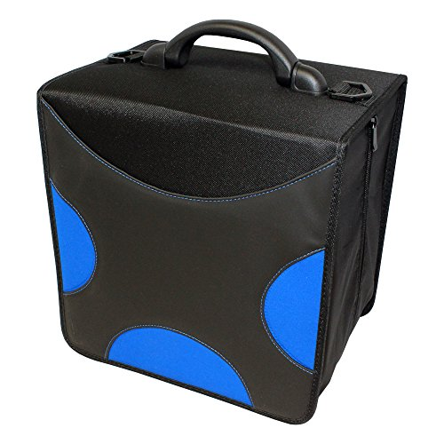 LINKYO 520 Disc Heavy Duty CD DVD Binder Wallets (Frustration-Free Packaging, Blue)