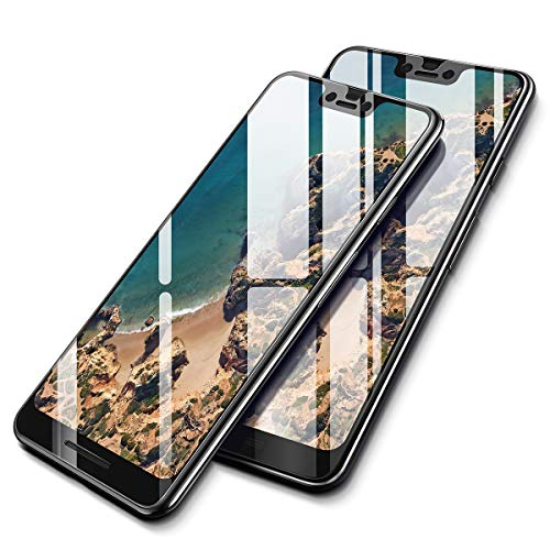AINOPE [2-Pack] Screen Protector Compatible Google Pixel 3XL, Ainope [Full-Coverage] Tempered Glass Screen Protector 0.33mm Compatible for Google Pixel 3 XL [Case Friendly] Anti-Fingerprint