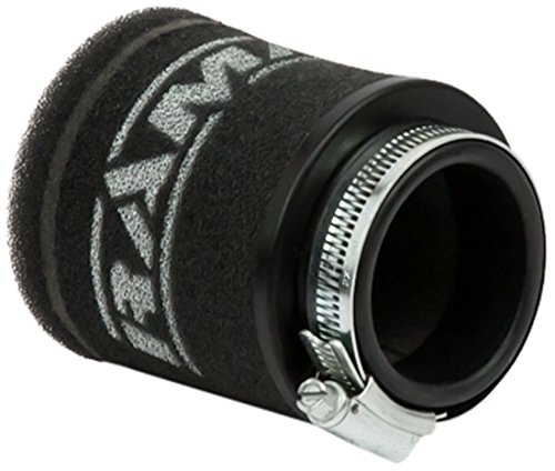 Filtro pod de aire para motocicletas Ramair Filters MR-006, negro, 48 mm Ramair Filters Ltd