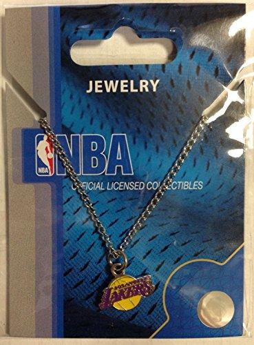 NBA Los Angeles Lakers Logo Pendant Necklace