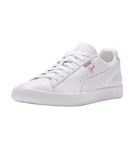 pretty nice 9f9a9 bead2 Amazon.com | PUMA Mens Clyde x Emory Jones Sneaker White ...