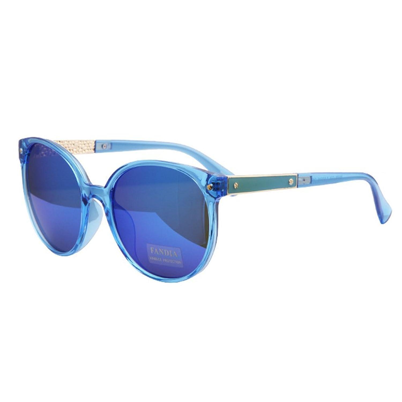 Hemss Rivets Retro Sunglasses Big Box Sunglasses Couple UV400 For Men And Women