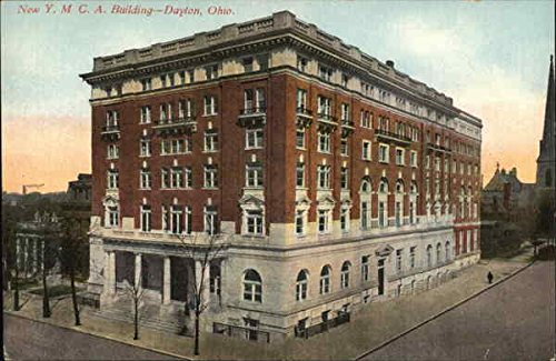 New Ymca Building (New YMCA Building Dayton, Ohio Original Vintage Postcard)