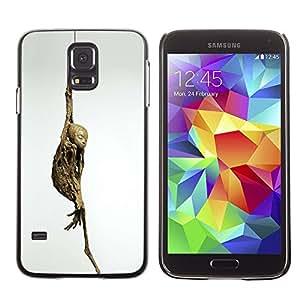 Ihec Tech Momia Yoga Arte Pose Budismo moderno Arqueología / Funda Case back Cover guard / for Samsung Galaxy S5