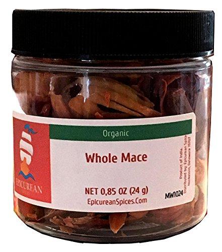 - Epicurean Spices Organic Whole Mace, 0.85 Oz