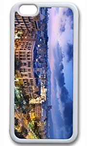 Beatiful City Architectural Case for iPhone 6 TPU White by Cases & Mousepads