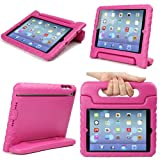 Evecase iKiz Multi Function Child / Shock Proof Kids Cover Case with Stand / Handle for Apple iPad Mini Tablet 1st Generation - Pink