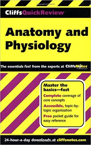 CliffsQuickReview Anatomy and Physiology: 9780764563737: Medicine ...