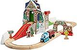 Fisher-Price Thomas & Friends Wooden Railway Santas Workshop Express Playset [Amazon Exclusive]