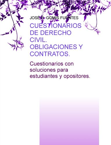 Obligaciones y contratos. (Spanish Edition) by [FUENTES
