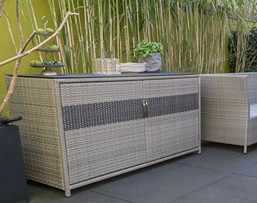Matodi Kissenbox Sideboard Anrichte 760 Liter Amazon De Garten