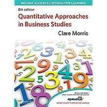 Quantitative Approaches in Business Studies