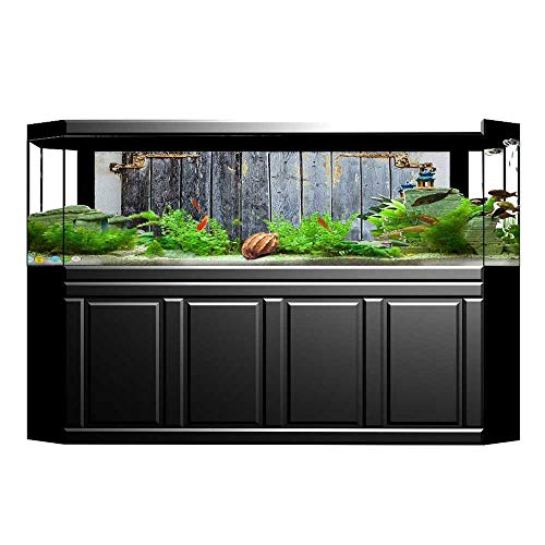 UHOO2018 Decorative Aquarium Rustic Wooden Window Shutters for sale  Delivered anywhere in Canada