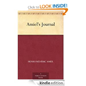 Amiel's Journal Henri Frederic Amiel and Humphry Ward