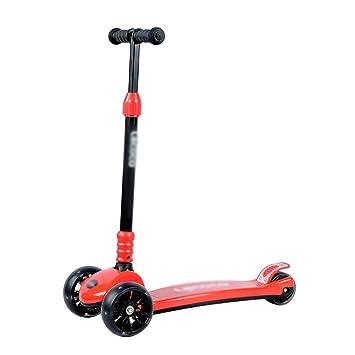 Patinete- Scooter para niños de 3 a 12 años de Edad 3 Ruedas ...