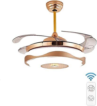 con lámpara Bead One Ventilador de Techo Restaurante Ventilador ...