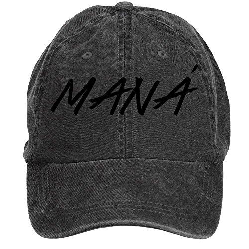 Tommery Unisex Mana Band Logo Hip Hop Baseball Caps