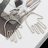 Human Face Dangle Earrings Drop Hoops Studs Cuffs