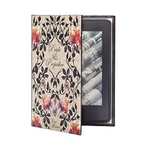 """KleverCase """"orgullo y prejuicio Jane Austen"""" de libro funda para Amazon Kindle 7th Generación"""