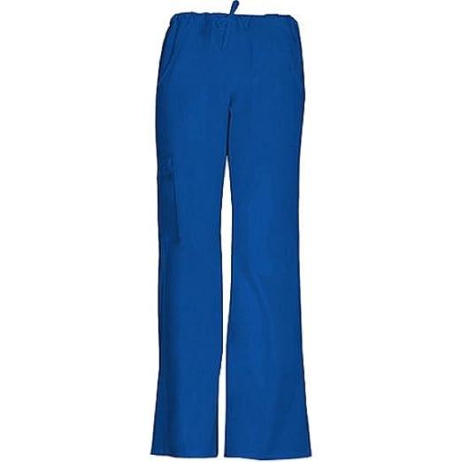 69393c6c9fc ScrubStar Women's Fashion Essentials Drawstring Cargo Scrub Pants  (XX-Large, Electric Blue)