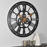 Firstime 00182 Firstime Roman Gear Wall Clock
