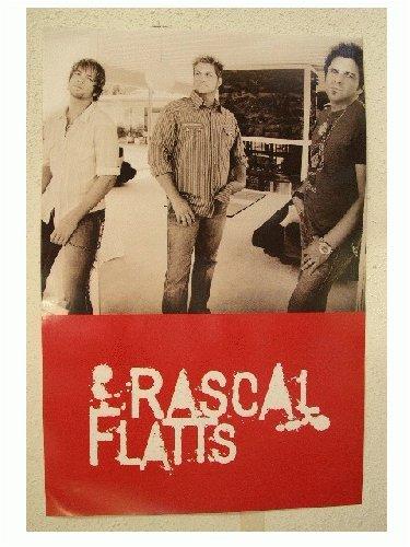 Rascal Flatts Poster Band Shot Flats