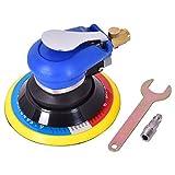 Ergonomic Grip 6'' Air Palm Sander Tool Compact Design 10000 RPM