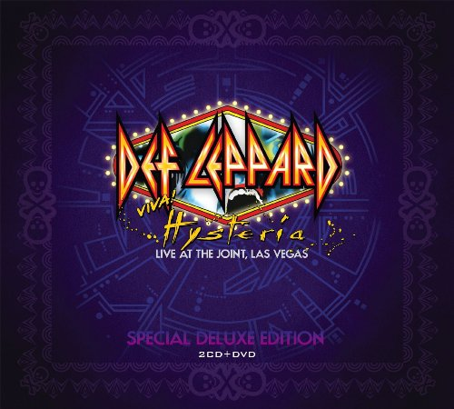 CD : Def Leppard - Viva Hysteria (With DVD, Deluxe Edition, 3 Disc)