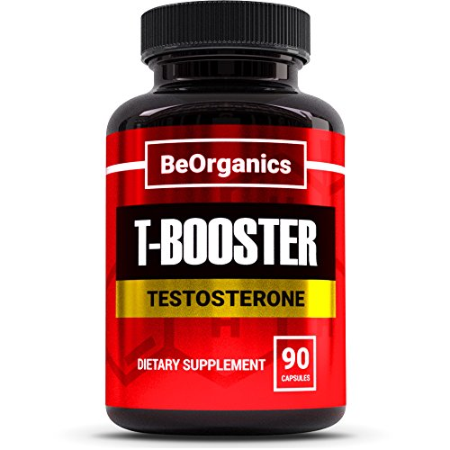 Testosterone Booster   90 Pills   Natural Supplement Contains Tribulus  Horny Goat Weed   More For Muscle Growth   Boosts Testo Levels  Enhances Stamina  Strength   Libido  Burns Fat