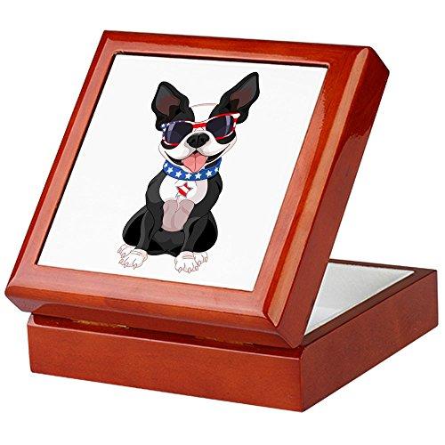 - Keepsake Box Mahogany Dog Lover Celebrating Boston Terrier