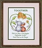 Love Struck Wedding Sampler - Cross Stitch Kit