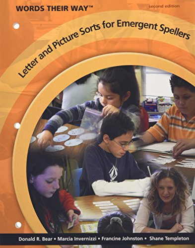 Words Their Way Letter and Picture Sorts for Emergent Spellers (2nd Edition) (Words Their Way For English Language Learners)