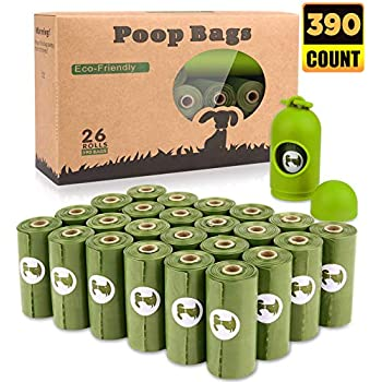 Amazon.com: Bolsas de caca biodegradables para perros, sin ...