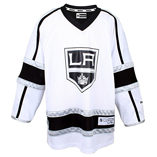 Los Angeles Kings White Infants 12-24 Months Reebok Away Replica Jersey - Kings White Jersey