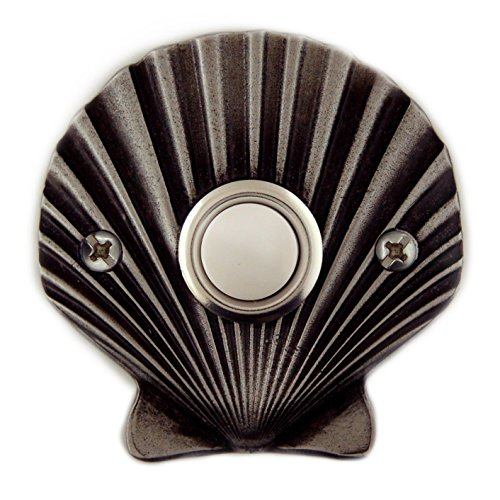(Sea Shell Decorative Doorbell with lighted button)