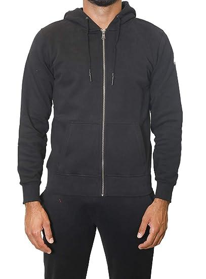 Black Zip Clothing uk Amazon Colmar Originals Full Sweatshirt co vfExIq