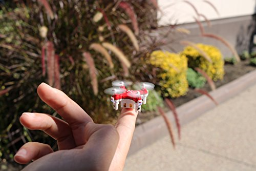 51IVK9Fs4lL MOTA JETJAT Nano Drone Quadcopter Controller (Red)