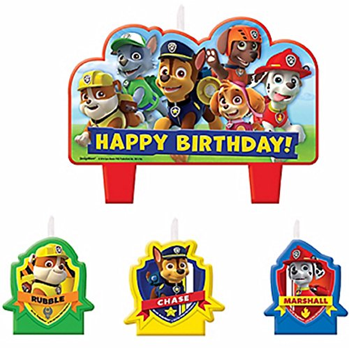 1 X Paw Patrol Candle Set